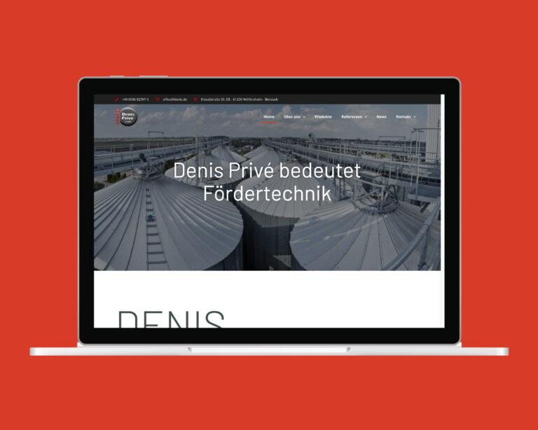 laptop website denis prive