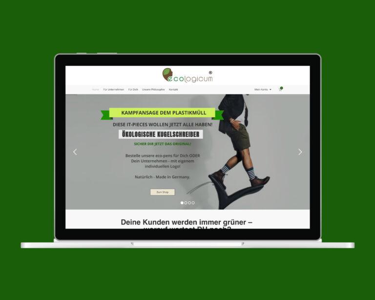 laptop website ecologicum
