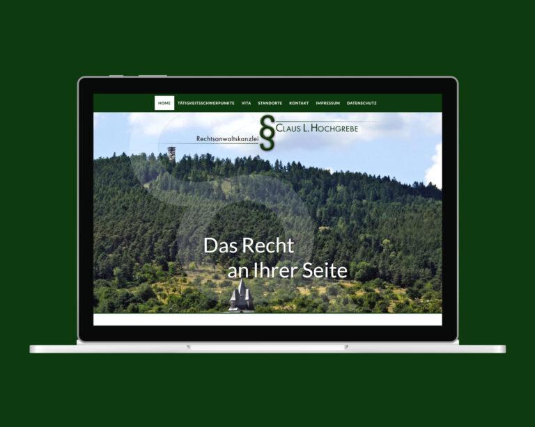laptop website hochgrebe