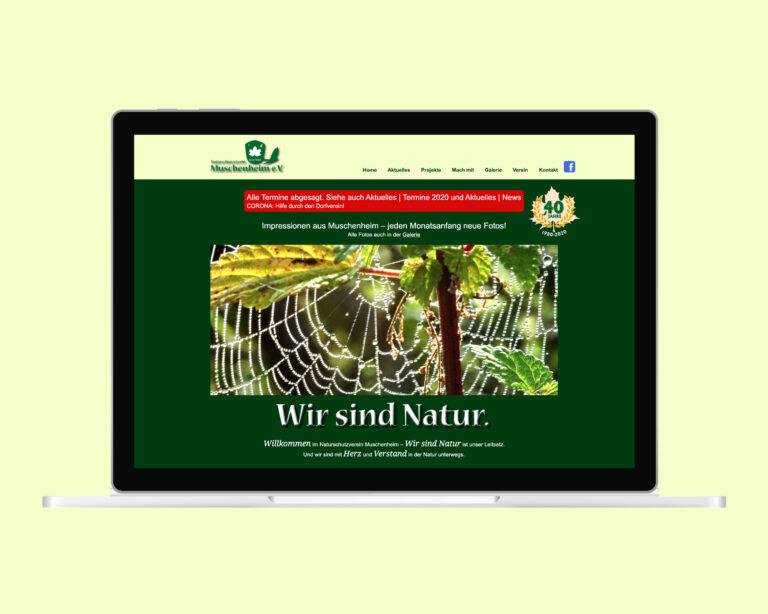 laptop website natur muschenheim