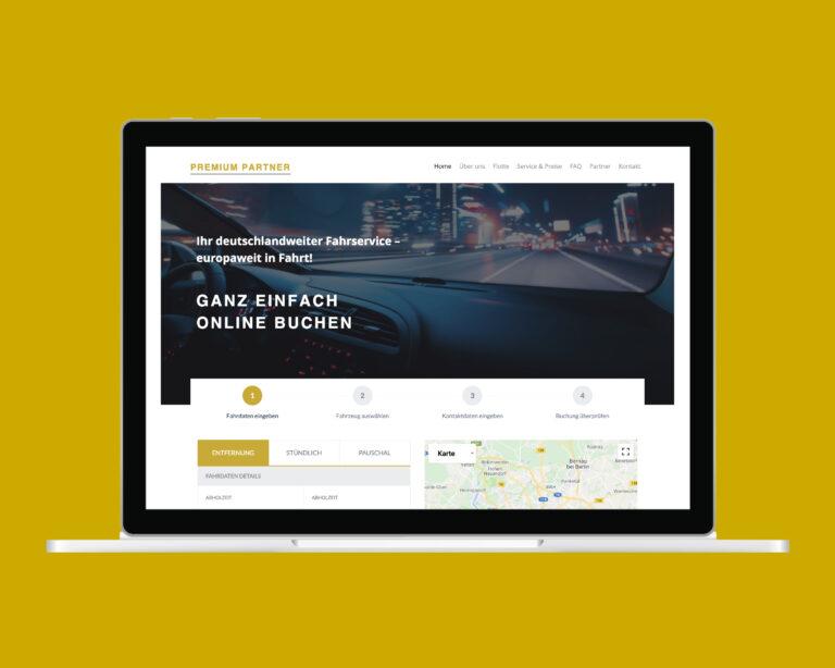 laptop website premium partner