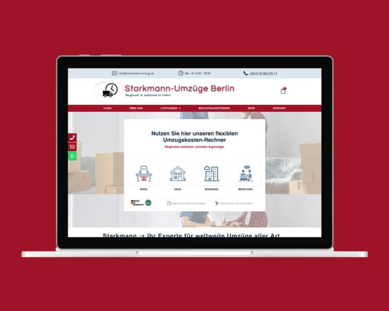 laptop website starkmann umzug berlin