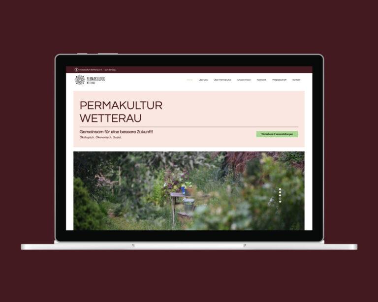 laptop website permakultur