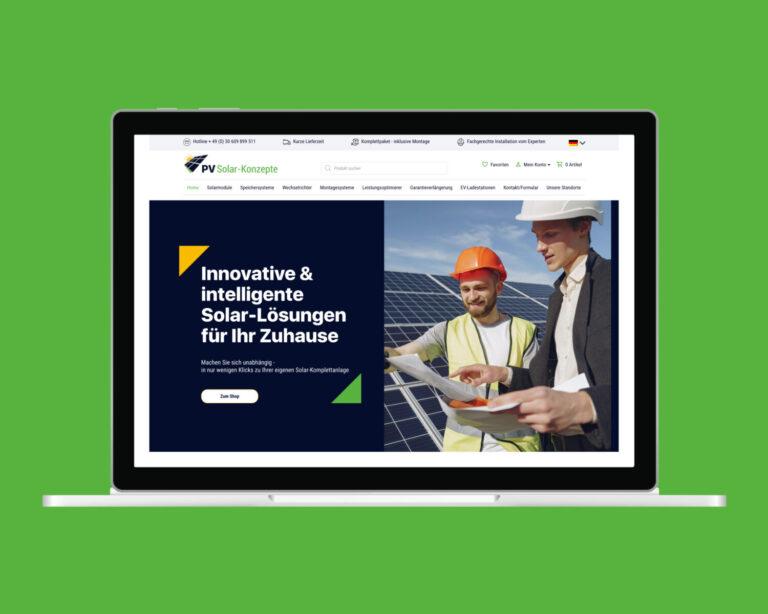 laptop website pv solaranlagen onlineshop